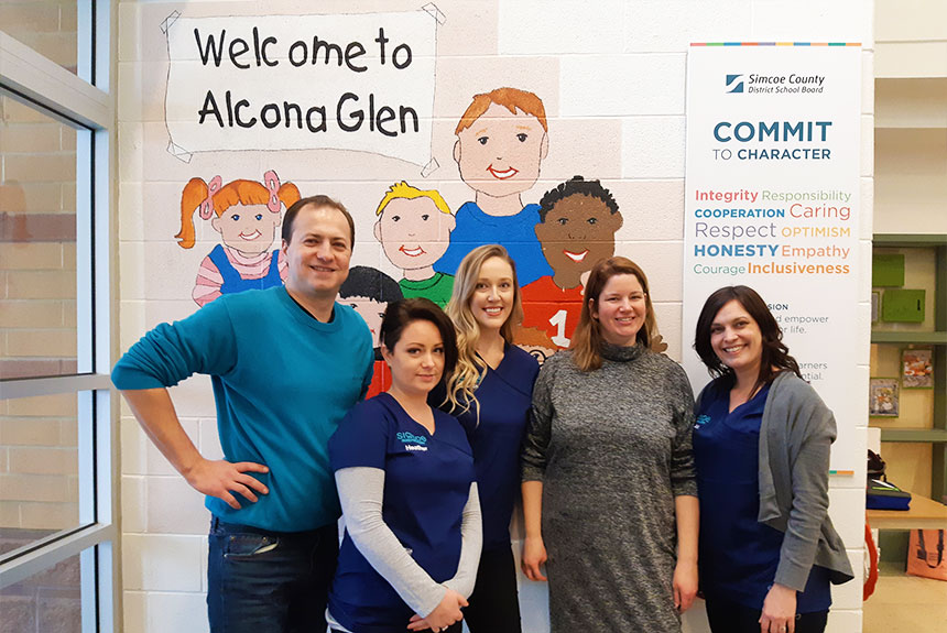 Great Success At Oral Hygiene Workshop for Alcona Glen Elementary School Students